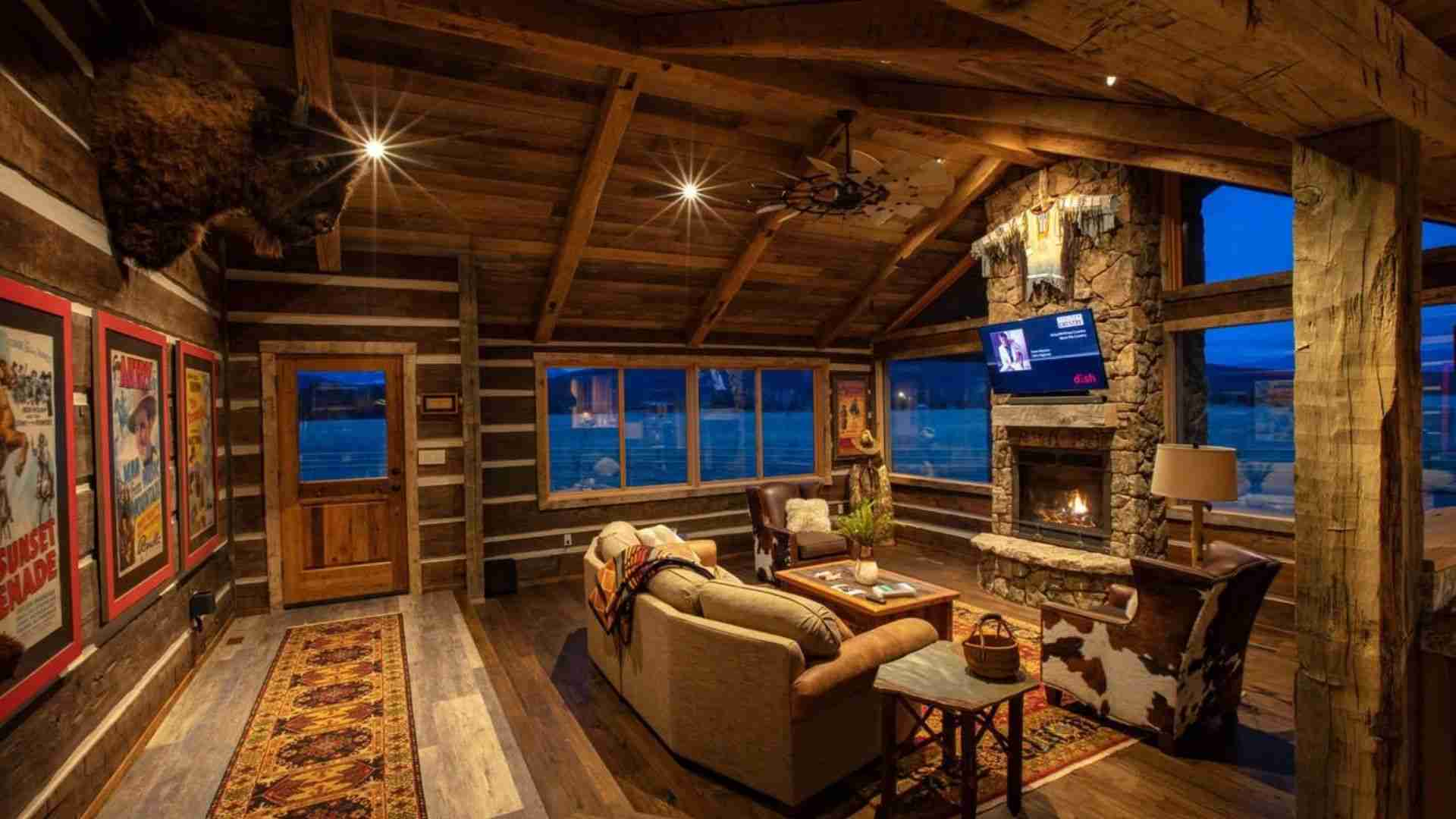 Luxury Homestead Cowboy Cabin On 10 Acres